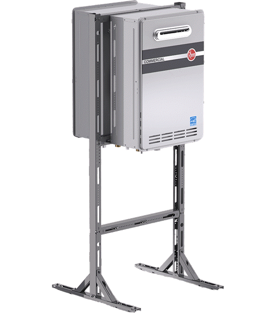 commercial tankless hvac, tangless gas electric water heaters, package gas electric heat pumps air conditioners hvac